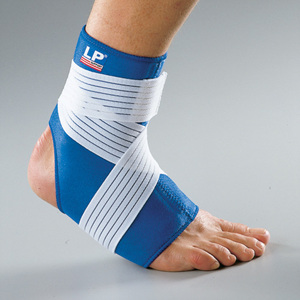 LP-728 ANKLE SUPPORT(WITH STRAP) (끈으로 압박을 조절할 수 있는 발목용 서포트)